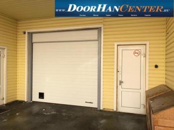 Промышленные ворота в паркинг ш 2770 в 2340