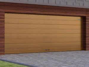 Секционные ворота с торсионным механизмом RSD02 от 31 300 руб