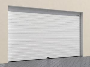 Ворота из однослойных панелей RSD02-SLP от 29 500 руб