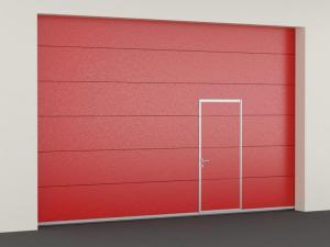 Секционные противопожарные ворота с классом огнестойкости EI60