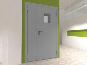 Технические двух створчатые двери