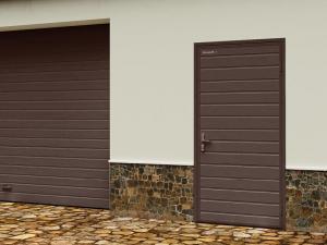 Гаражные двери модели